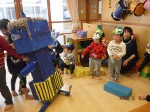 2月のうさぎ組(2歳児クラス)